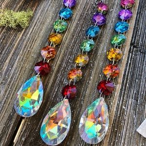 Chakra Rainbow Sun Catcher🌈🌞Boho Home Decor